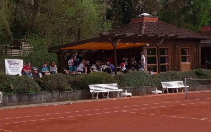 Zuschauer beim Mixed-Turnier
