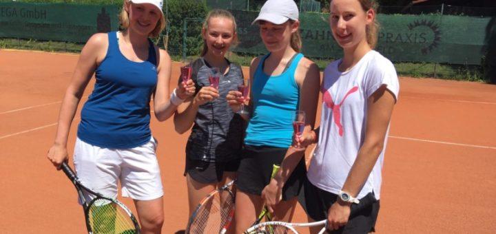 Juniorinnen 18 feiern Meisterschaft