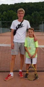 Alex mit Rafa in Aschfeld